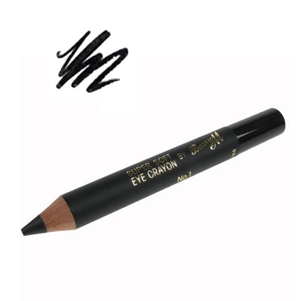 barry m makeup cosmetics super soft texured eyeliner crayon black smokey eye ebay. Black Bedroom Furniture Sets. Home Design Ideas