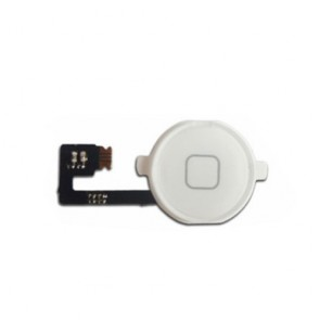 iPhone 4 4G Home Button with Flex Cable Assembly White