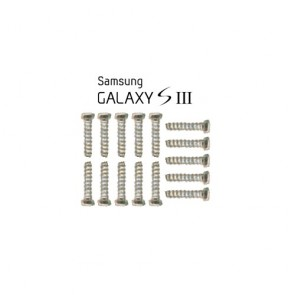 15pcs screws for Samsung Galaxy S III S3 i9300 Screw Set
