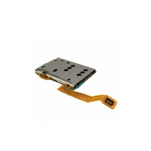 Metal Sim Card Holder Reader Flex Cable PCB Nokia C7 C 7