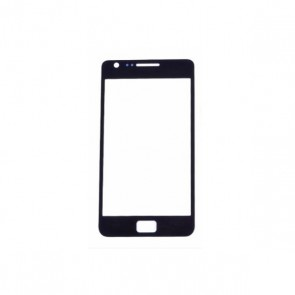 Black Front Repair LCD Glass Lens for Samsung Galaxy S2 SII GT-i9100