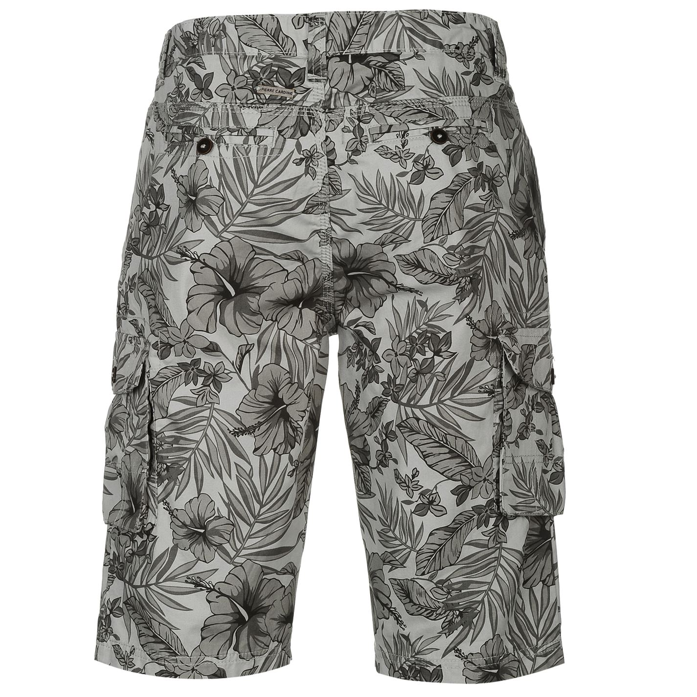Pierre-Cardin-Cotton-Summer-All-Over-Print-Cargo-Shorts-Mens-Multicoloured-S-XL