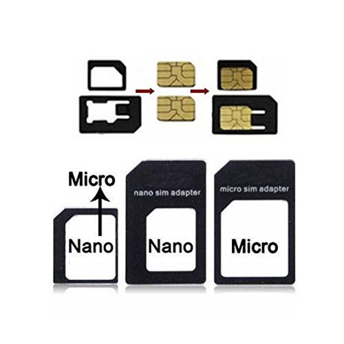 nano sim adapter nano carte sim vers micro sim standard sim iphone adaptateur ebay. Black Bedroom Furniture Sets. Home Design Ideas