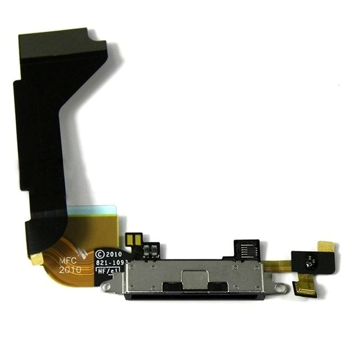 replace iphone charging port new iphone 4s black charging port dock connector flex 3039