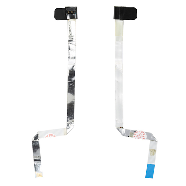 """Silver Ribbon Flex Cable for A1181 Macbook 13/"""" Keyboard Trackpad Black White"""