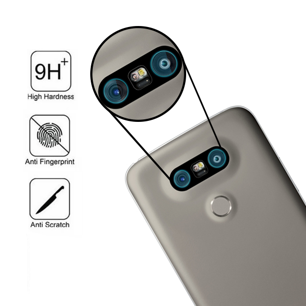 on sale e9cbc 581ef Details about For LG G5 Tempered Glass Back Rear Camera Lens 9H Protector  Film Cover H850 H858