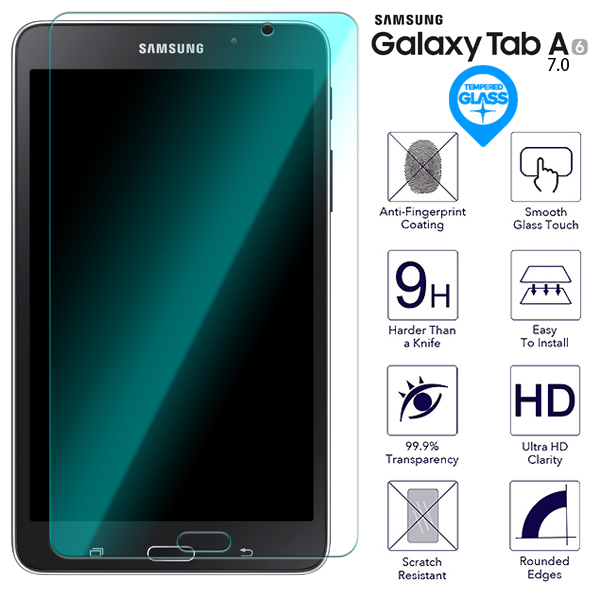 Tempered Glass 9H Screen Protector For Samsung Galaxy Tab A 7.0 T280 T285 Tablet