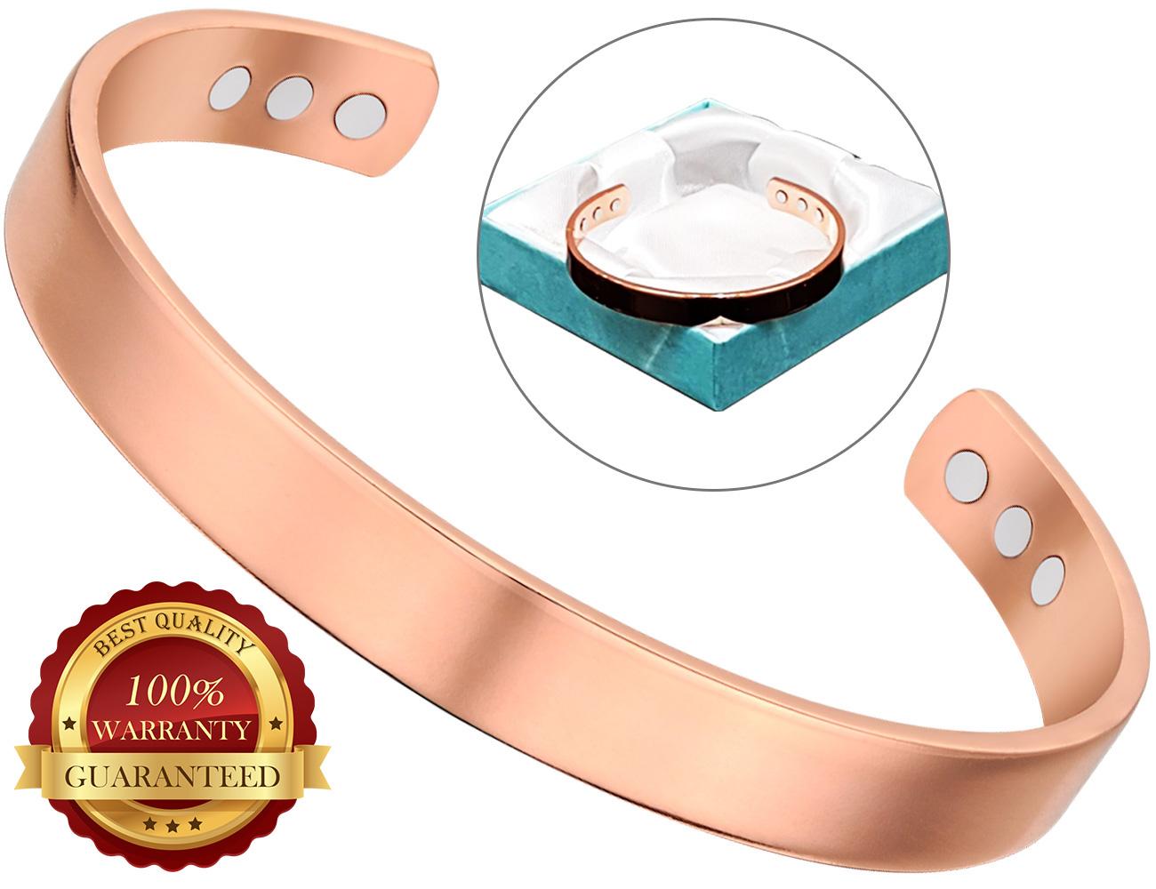 Armband Frauen Kupfer Heilung Bio magnetische Schmerztherapie Armreif