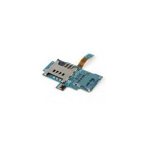 Genuine Samsung GT i9000 Galaxy Sim Reader SD Memory Card Holder Flex Cable