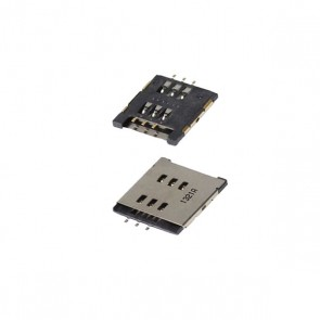 BlackBerry Torch 9800 OEM Sim Card Reader Module/Slot/Tray Part New