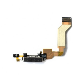 iPhone 4S 4G Dock Connector Charging Port Black Repair Part