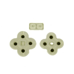 Replacement Rubber Pad Silicon Buttons D-Pad For Nintendo DS Lite DS