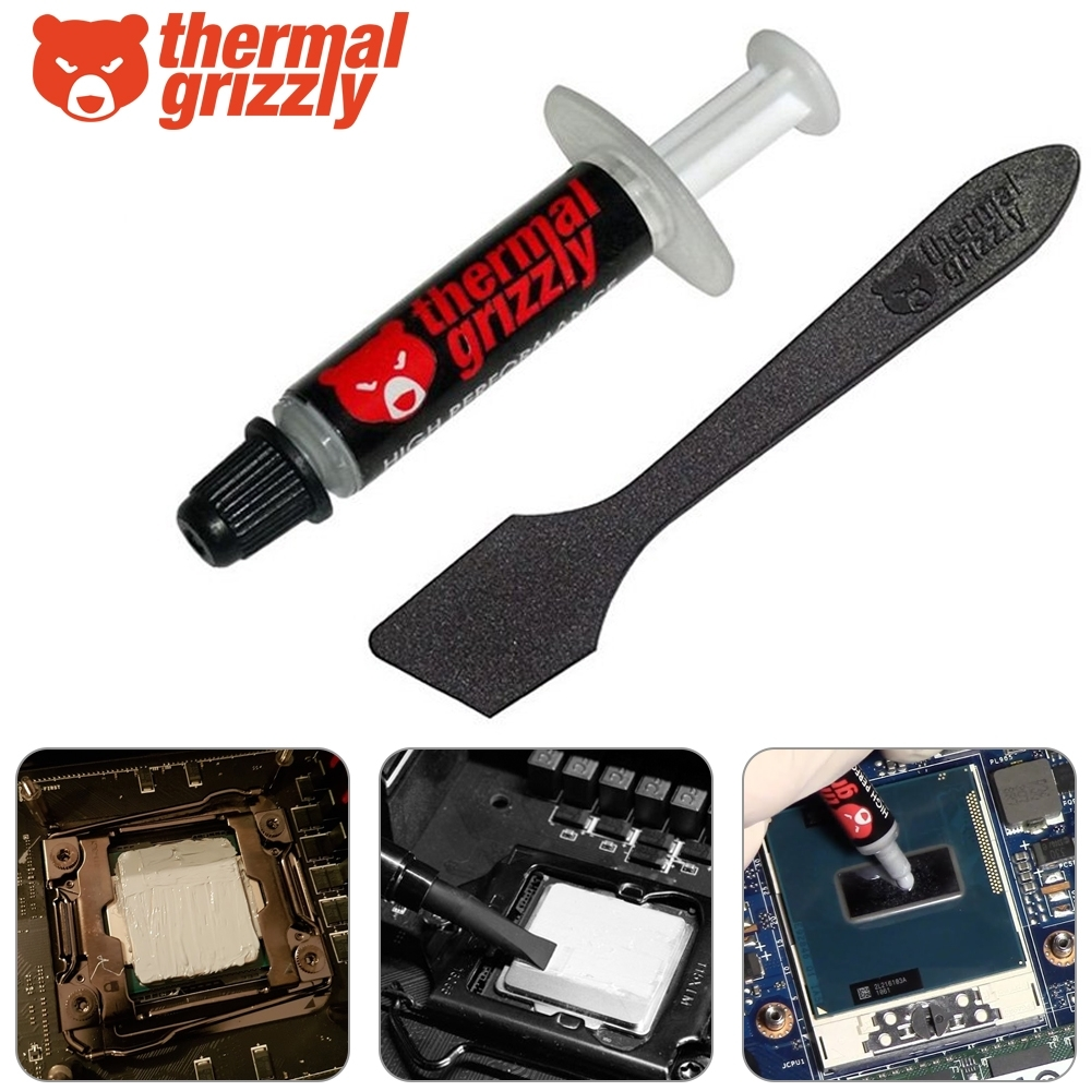 Thermal Grizzly Kryonaut High Performance Thermal Grease Compound Paste 1g 753677507234 Ebay