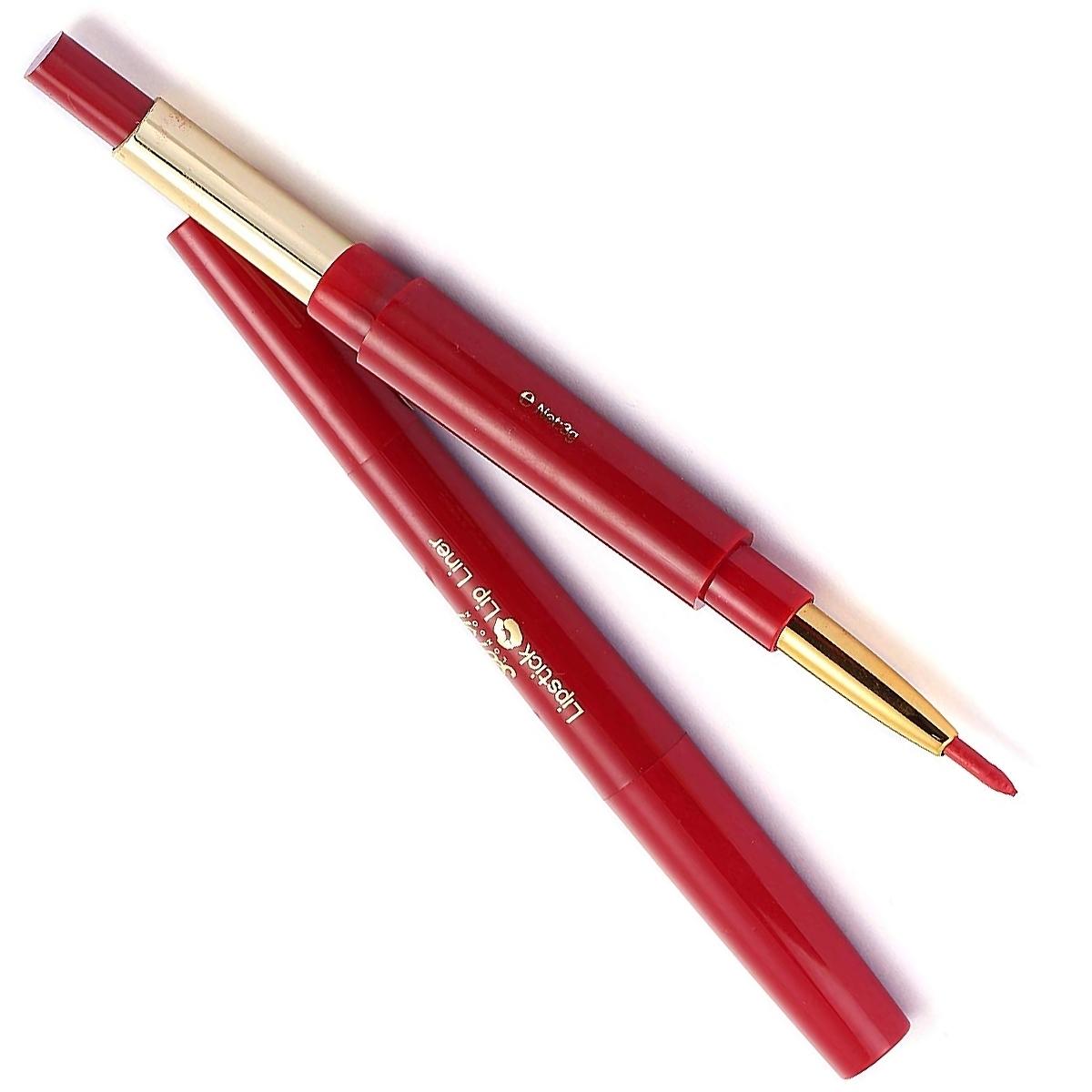 Saffron-London-Lipstick-amp-Lip-Liner-Twist-Up-Creamy-Duo-Makeup-Multi-Colour thumbnail 9