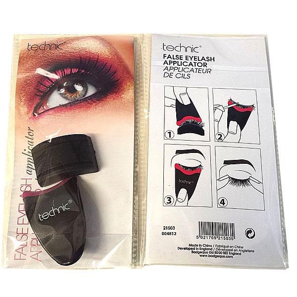 Details About Technic False Eyelash Applicator Fake Eye Lashes Tool Clip Tweezer And Holder
