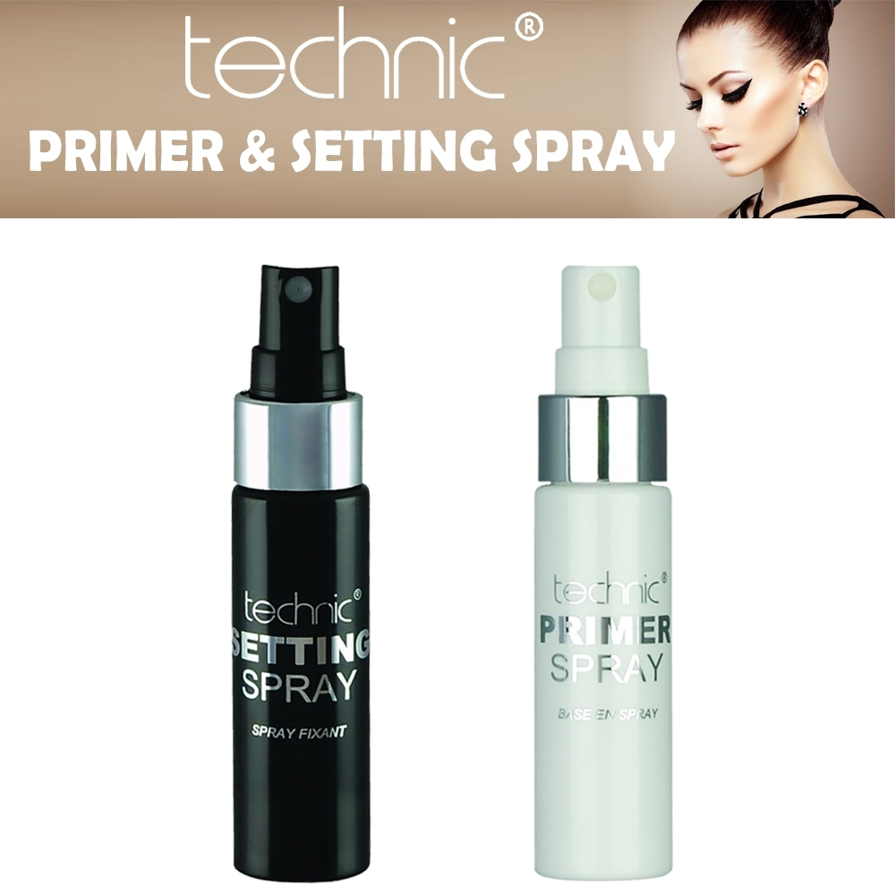 Details About Technic Makeup Face Setting Spray Fixant Primer Spray Fresh Look Make Up