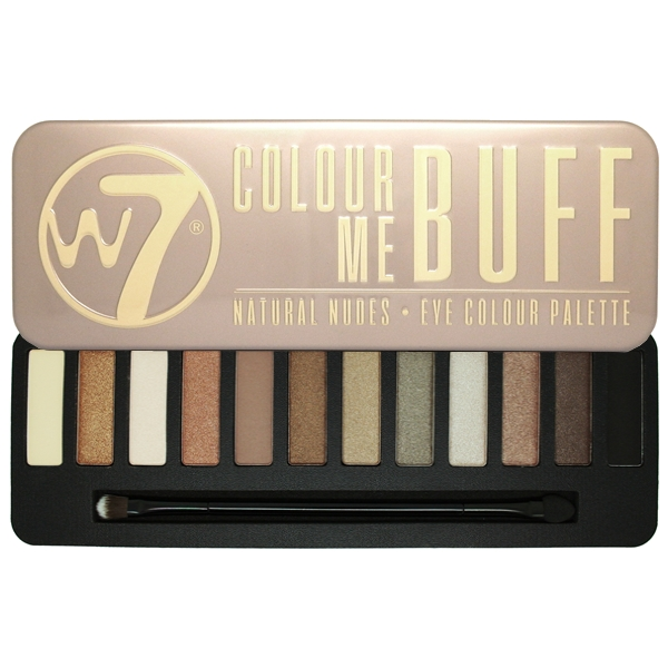 W7 Maquillage Eye Shadow Palette Naked Nude Naturel