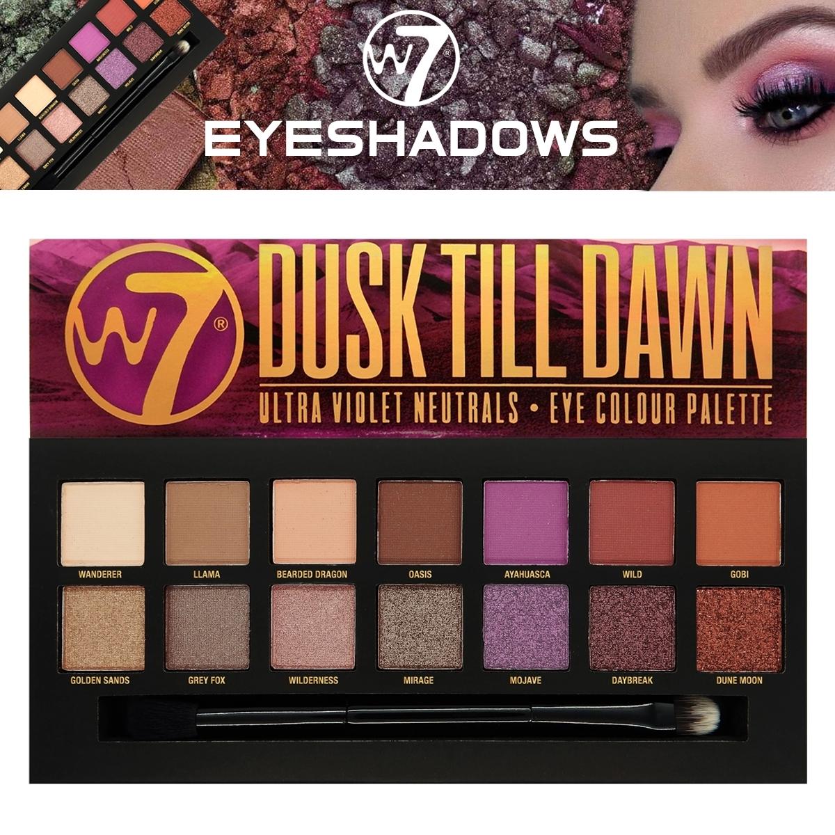 Just Essentials | W7 Dusk Till Dawn Eyeshadow Palette